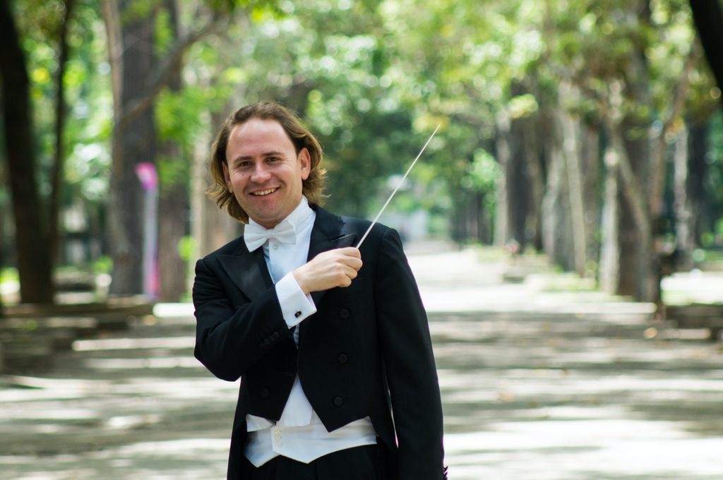 Christian Vásquez with the Gran Canaria Philharmonic